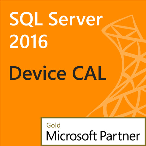 microsoft sql server 2016 device client access license 1 device cal