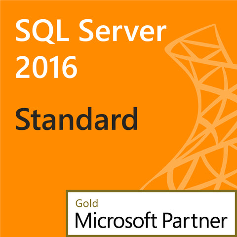 microsoft sql server 2016 standard 10 user cal instant license