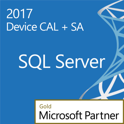 Microsoft SQL Server 2017 Standard Device CAL Open License Software Assurance