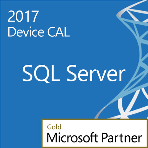Microsoft SQL Server 2017 Standard Device CAL Open License