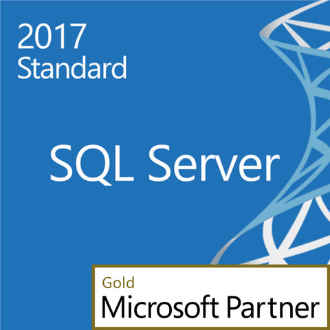 Microsoft SQL Server 2017 Standard Edition 2 Core Two Cores Edition Download Open License with Software Assurance