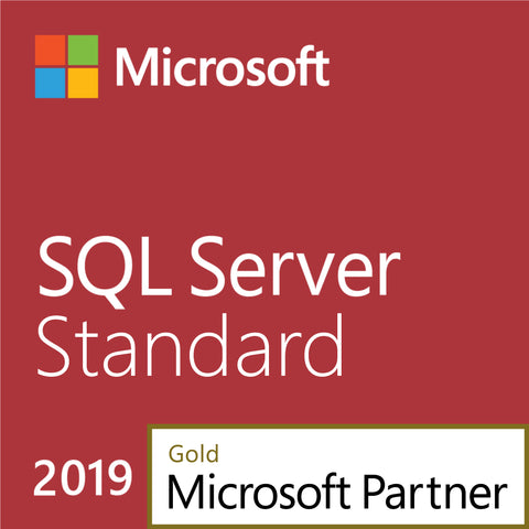 Microsoft SQL Server 2019 Standard +10 CALs - License