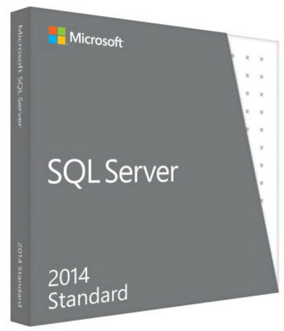 microsoft sql server standard edition 2014 with 10 clients