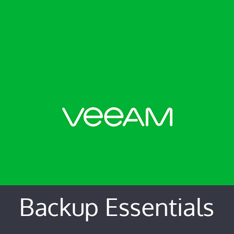 Veeam Backup Essentials 2 Socket Vmware Bundle