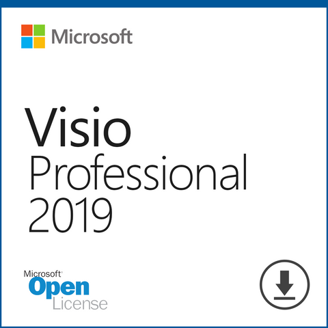 Microsoft Visio 2019 Professional Download Open License