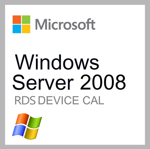 Windows Server 2008 Remote Desktop - 1 Device CAL