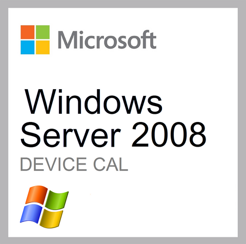 Microsoft Windows Server 2008 Device CAL Client Access License
