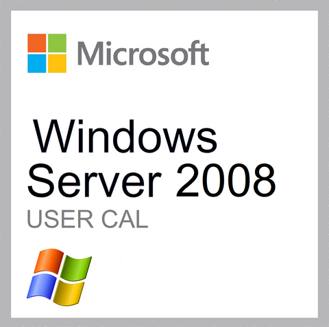 Windows Server 2008 User CAL Client Access License