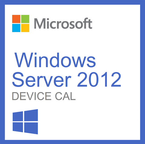microsoft windows server 2012 license 5 device cals