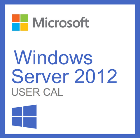 Microsoft Windows Server 2012 User CAL License