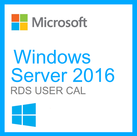 Microsoft Windows Server 2016 Remote Desktop User CAL RDS License OL