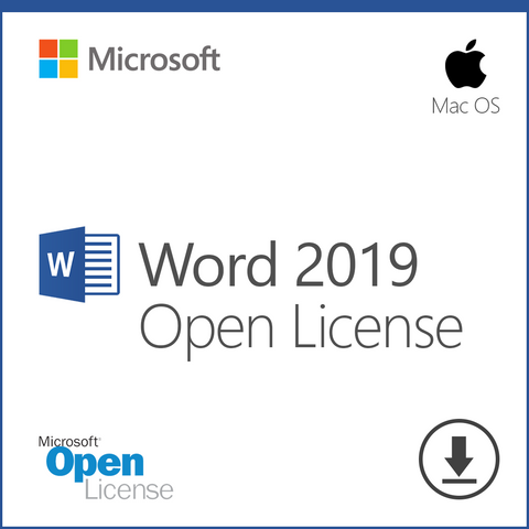 Microsoft Word 2019 Open License Download for Mac