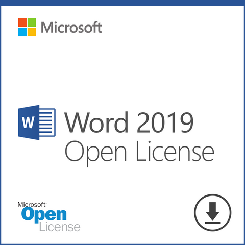 Microsoft Word 2019 Open License Download
