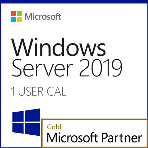 Microsoft Windows Server 2019 1 User CAL