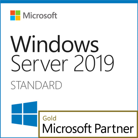 Microsoft Windows Server 2019 Standard Download 16 Core License with 10 CALs