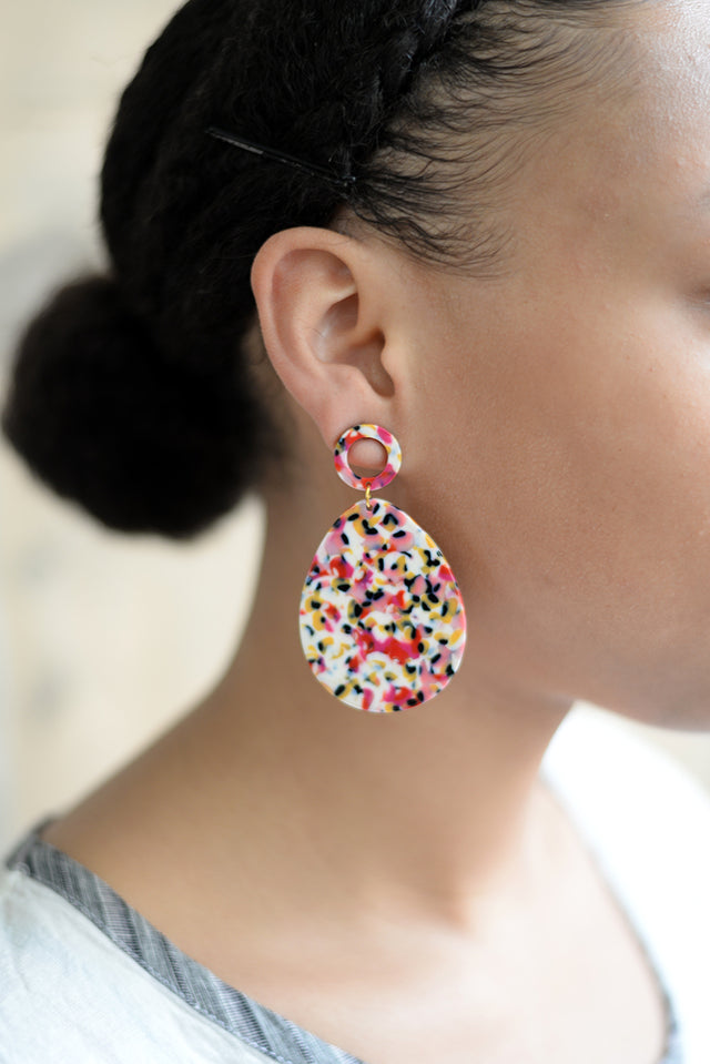 Lucite Earrings