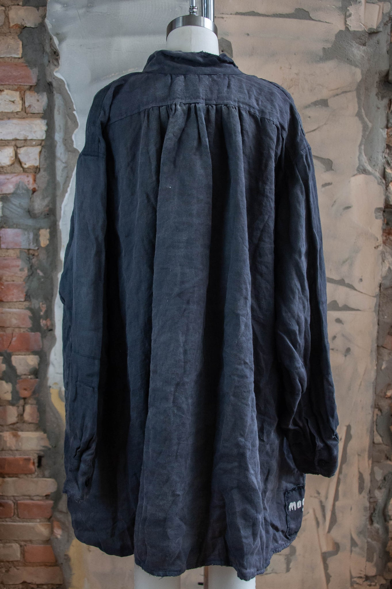 Poetry Gathered Neck Smock Shirt Top 812