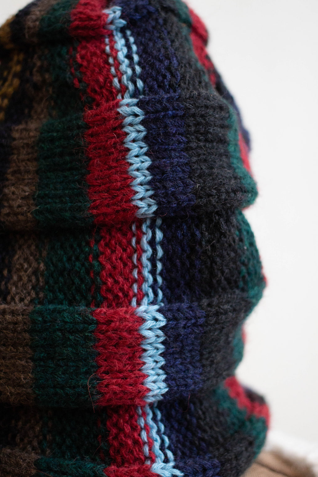 Striped Slouchy Hat