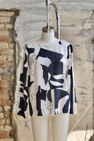 Canvas Monstera Blouse