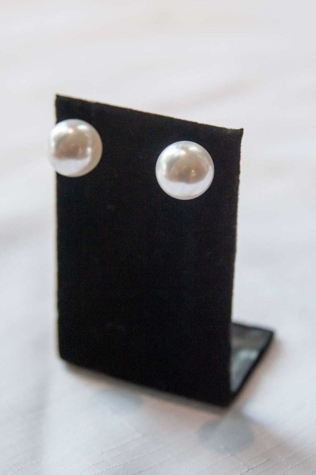 Extra Large Pearl Studs