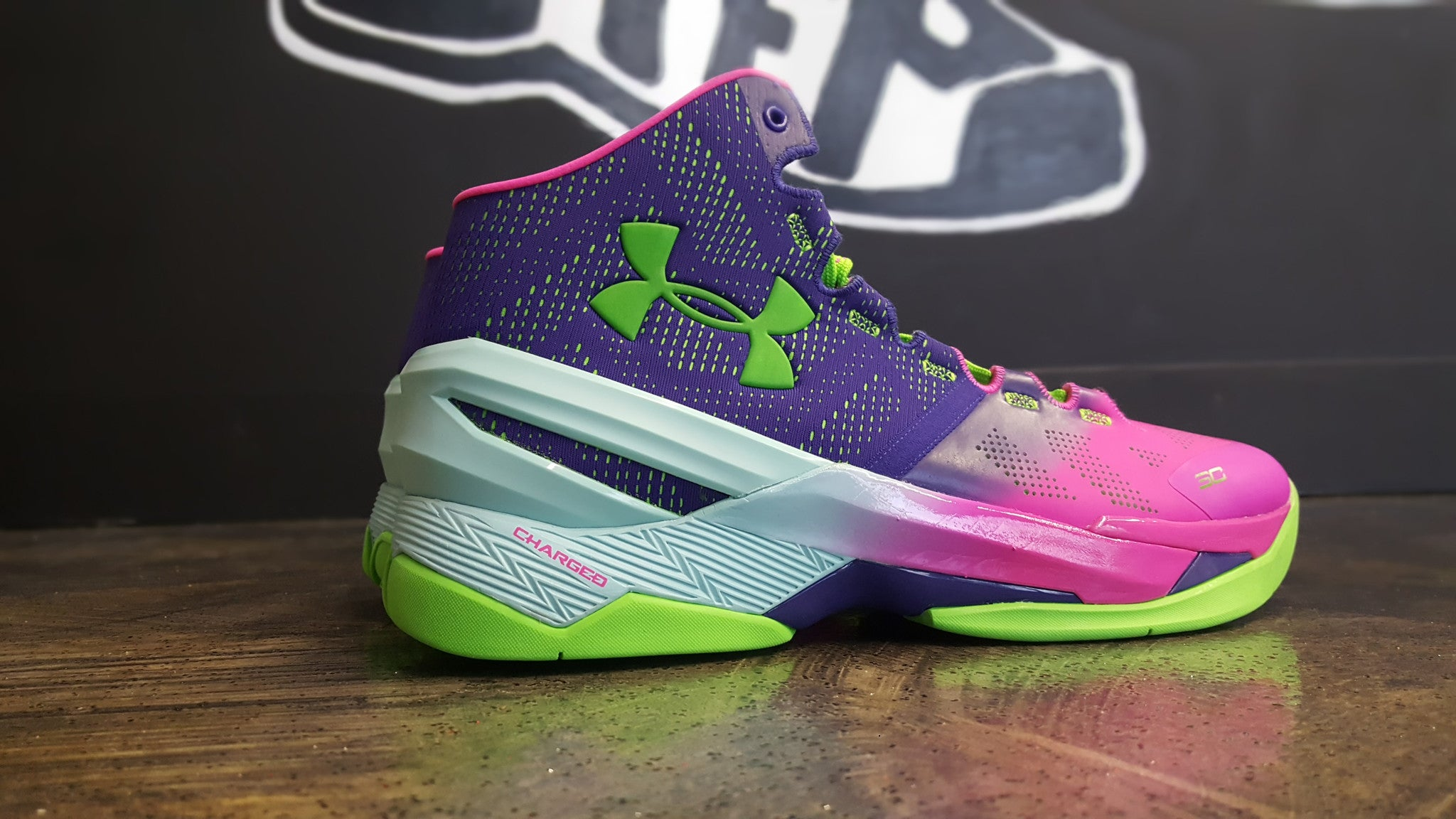 "Under Armour Curry 2 ""Northern Lights"""