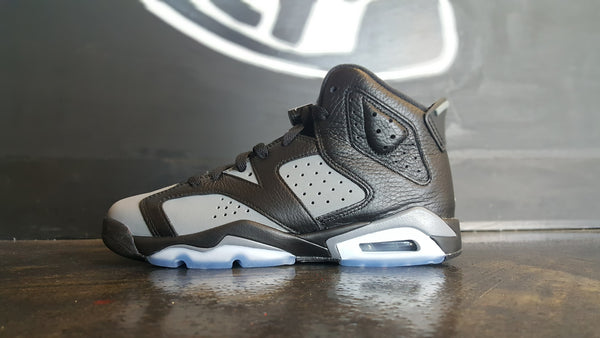 "Air Jordan 6 Retro ""Black/Grey"" (PS)"