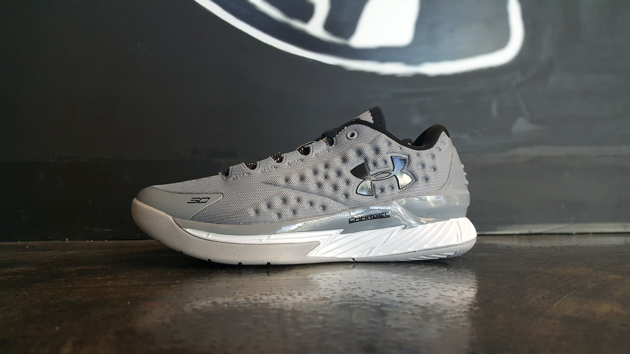 "Under Armour Curry 1 Low ""Two A Days Grey"" (GS)"