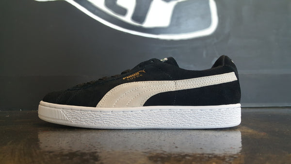 "Women's Puma Suede ""Black"""