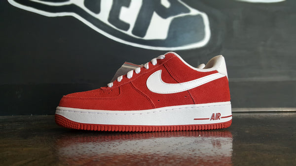 "Nike Air Force 1 ""Gym Red"" (GS)"