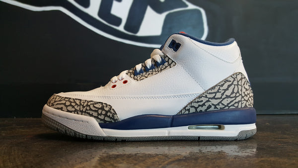 "Air Jordan 3 Retro  ""True Blue"" (GS)"
