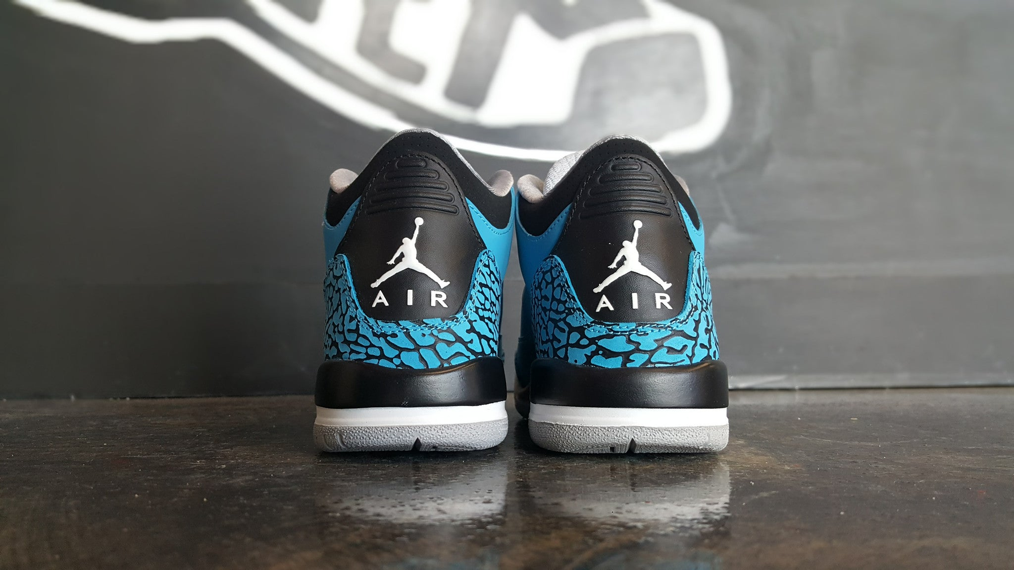 "Air Jordan 3 Retro ""Powder Blue"" (GS)"