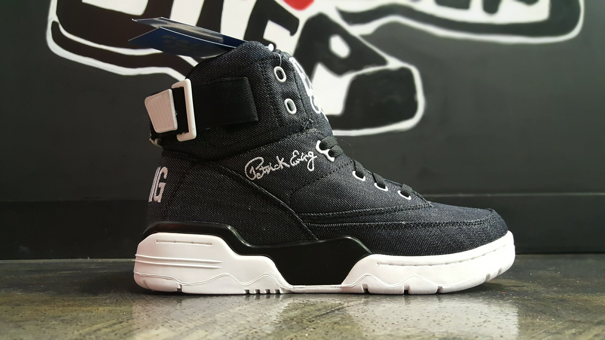 "Ewing 33 Hi ""Black Denim"""