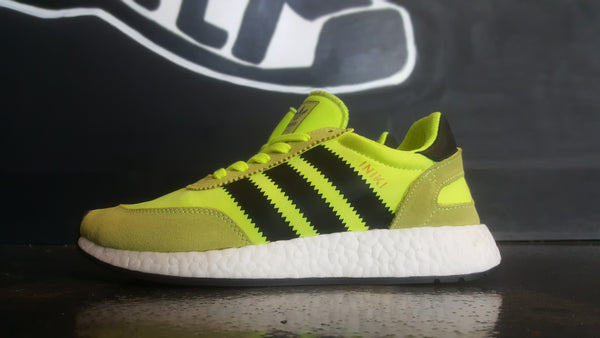 "Adidas Iniki Boost ""Solar Yellow"""