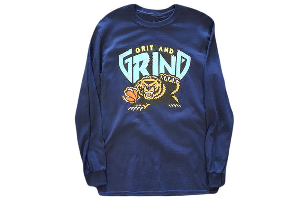 "Grp Fly x SBS ""Grit and Grind"" Navy LS Tee"