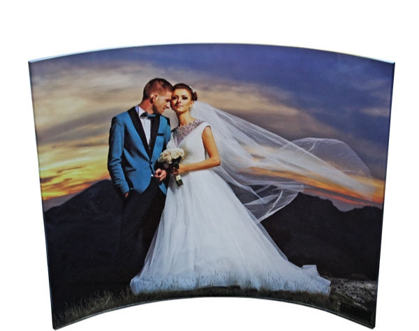 8 x 10 Curved Acrylic Picture
