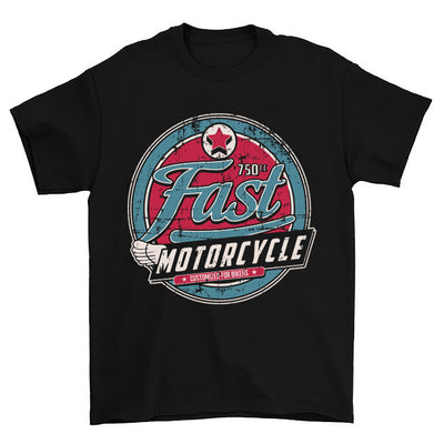 Fast Motorcycle Customized For Bikers T-Shirt