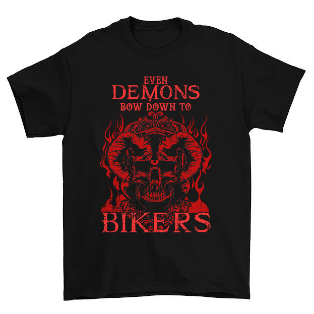 Even Demons Bow Down To Bikers