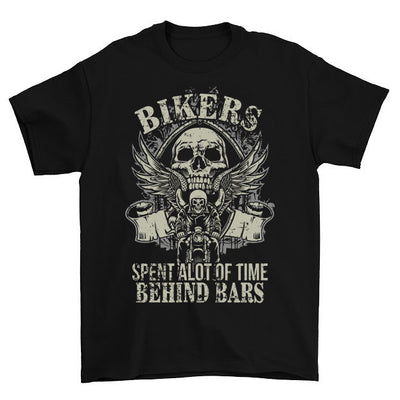 Spent A Lot Of Time Behind Bars T-Shirt