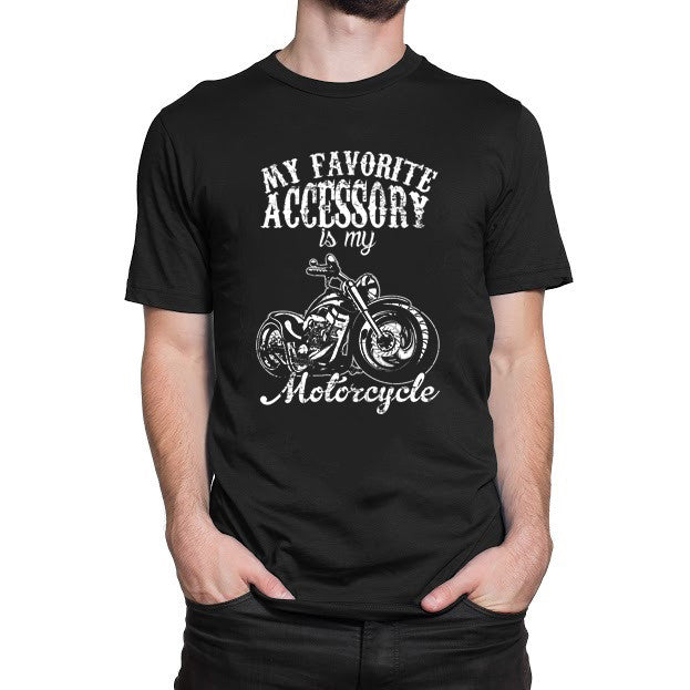 My Favorite Necessity Is My Motorcycle T Shirt