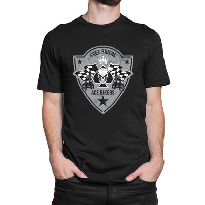 Free Riders Ace Bikers T-Shirt