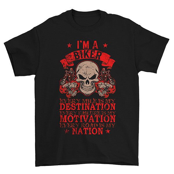 Every Mile Is My Destination T-Shirt