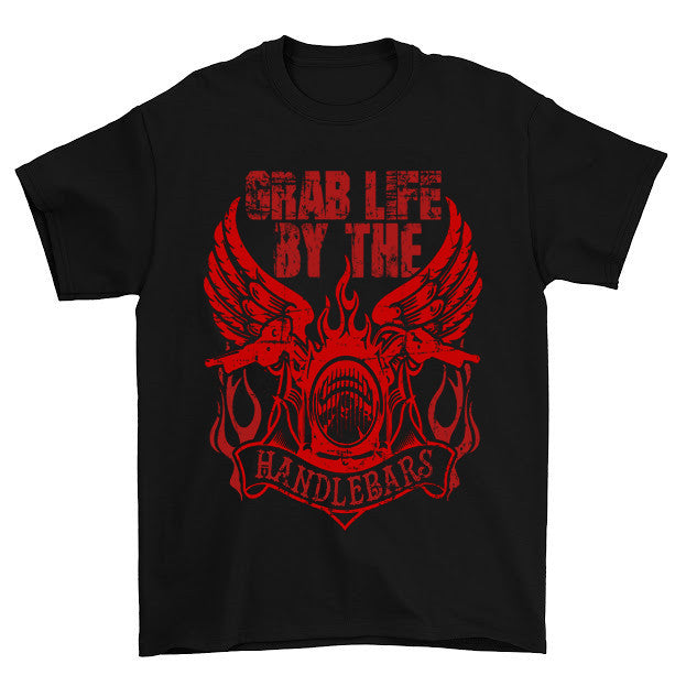 Grab Life By The Handlebars T-Shirt