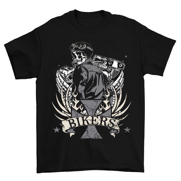 Awesome Biker Design T-Shirt