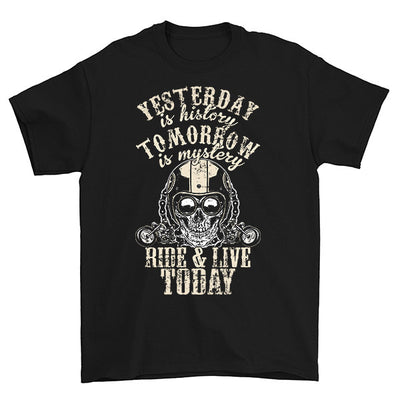 Yesterday Is History Tomorrow Is Mystery T-Shirt