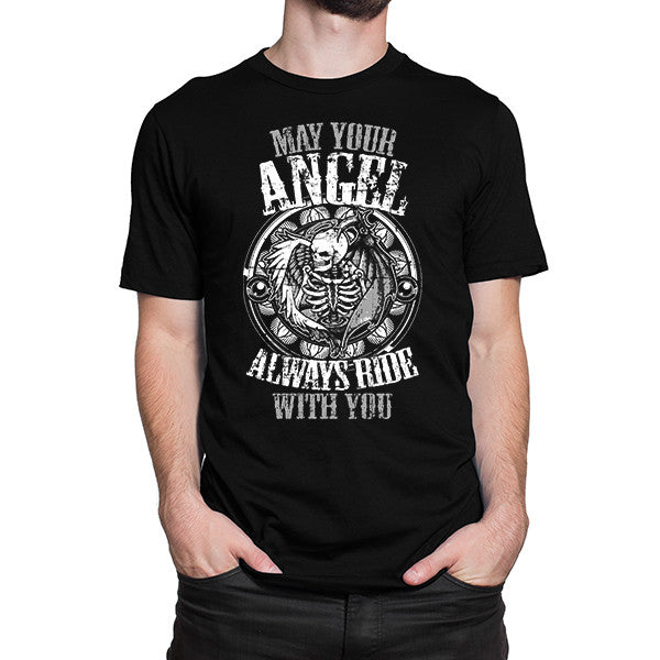 May Your Angel Always Ride With You T-Shirt