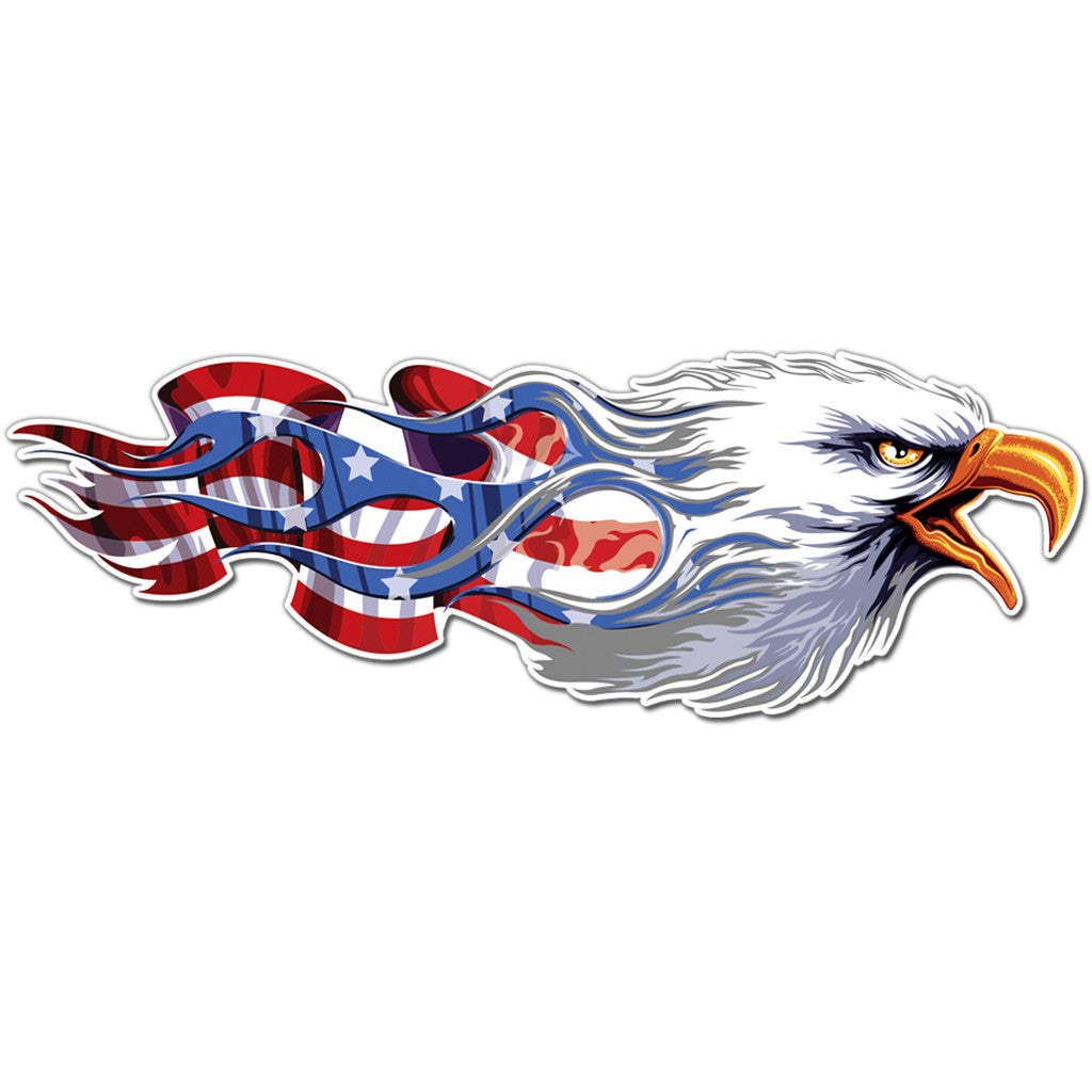American Eagle Decal Sticker Vinyl Wall Usa Flag Symbol United