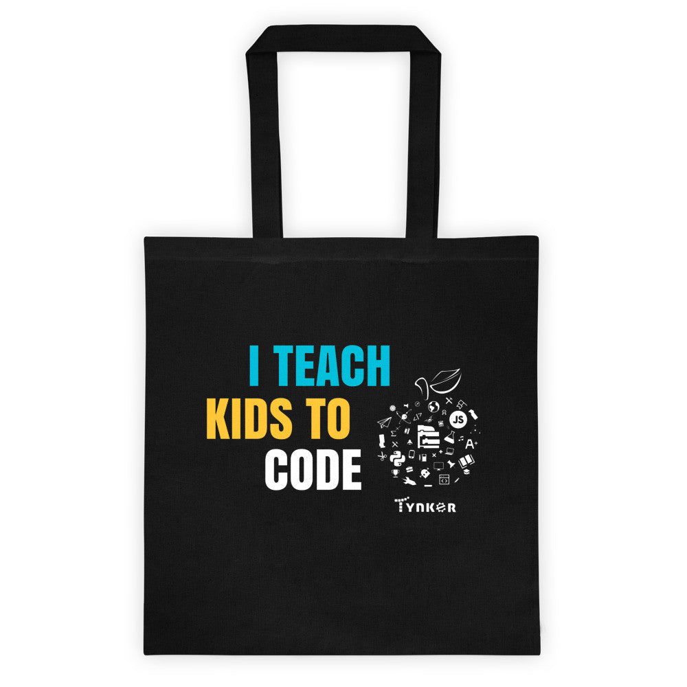 I Teach Kids to Code - tote bag