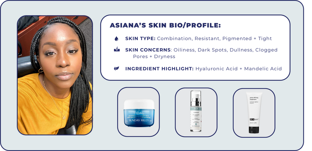 How Asiana Handled Dry + Oily Skin