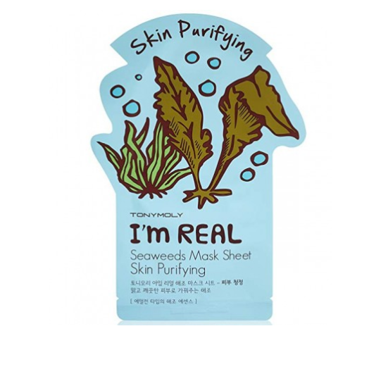 TONY MOLY I'm Real Sheet Mask Seaweeds (Set of 2)