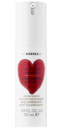 Korres Wild Rose Smoothie Brightening Priming Moisturizer
